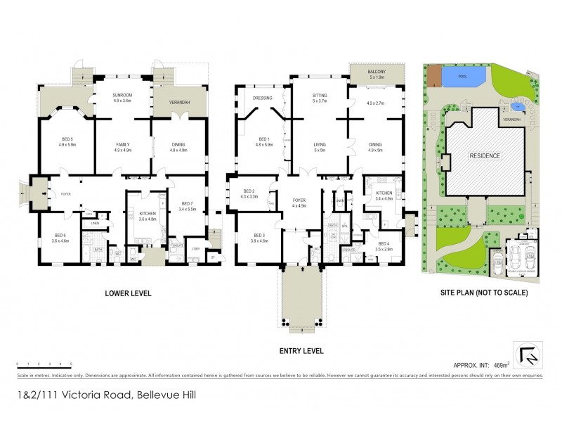 111 Victoria Road, Bellevue Hill NSW 2023 Floorplan