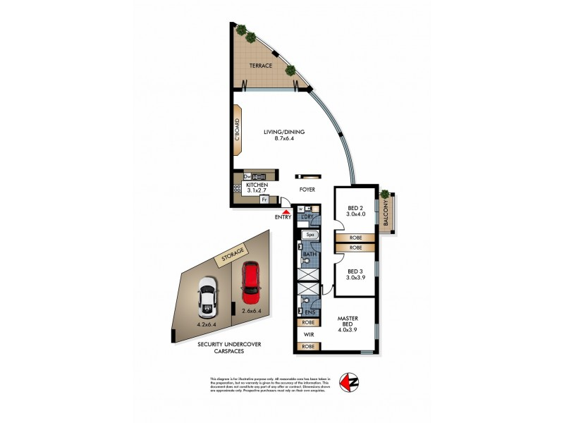 5/28-30 Carlisle Street, Rose Bay NSW 2029 Floorplan