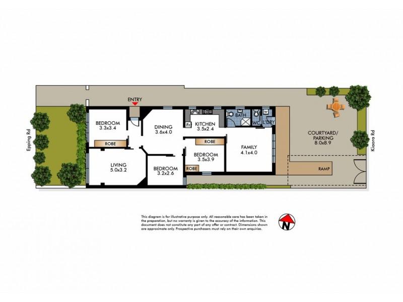 72 Epping Road, Double Bay NSW 2028 Floorplan