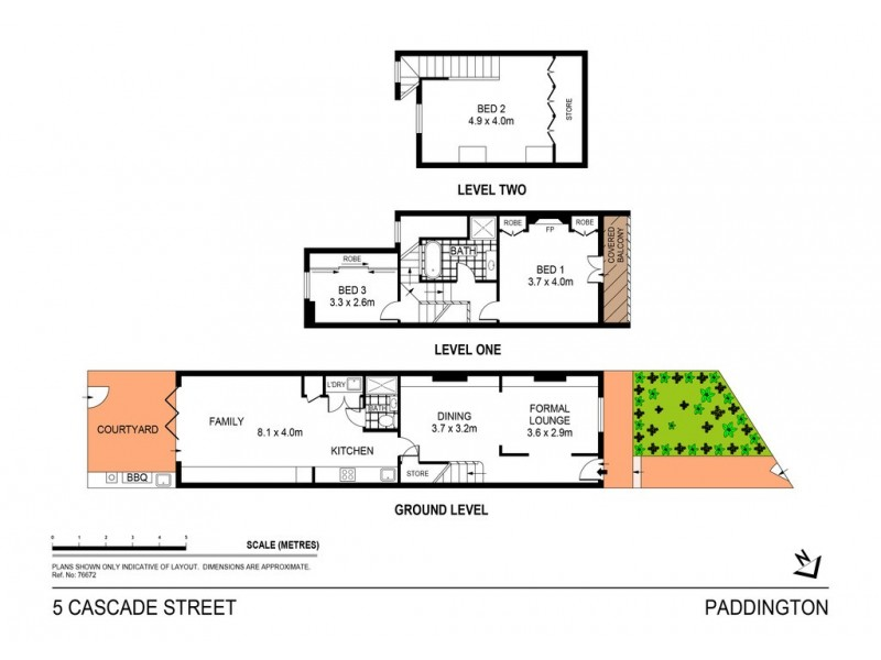 5 Cascade Street, Paddington NSW 2021 Floorplan