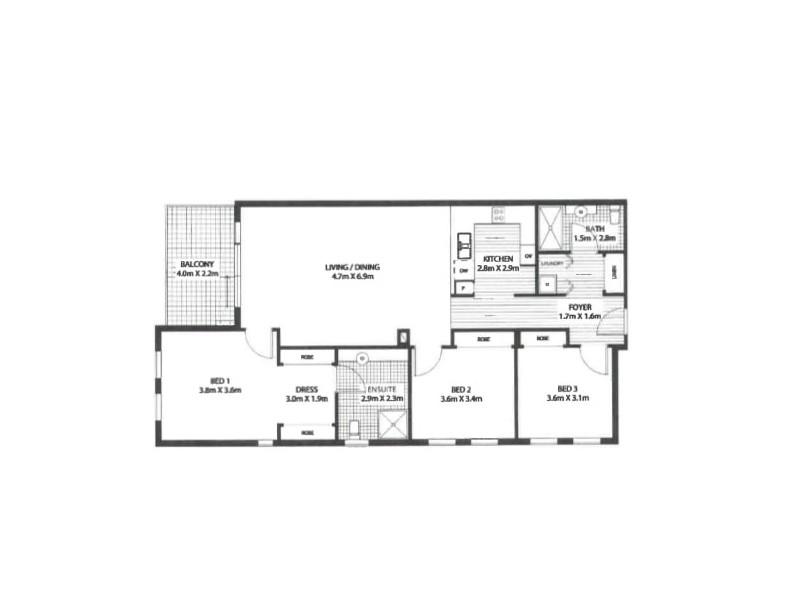28/24-32 Flood Street, Bondi NSW 2026 Floorplan