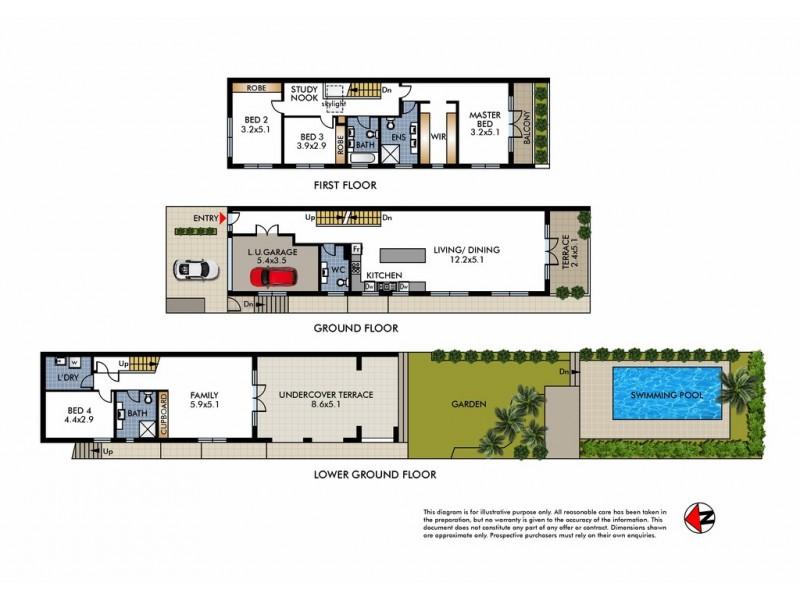 59 Clyde Street, North Bondi NSW 2026 Floorplan