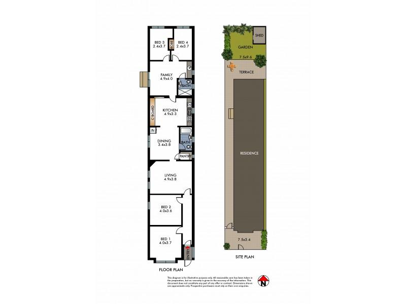 32 Onslow Street, Rose Bay NSW 2029 Floorplan