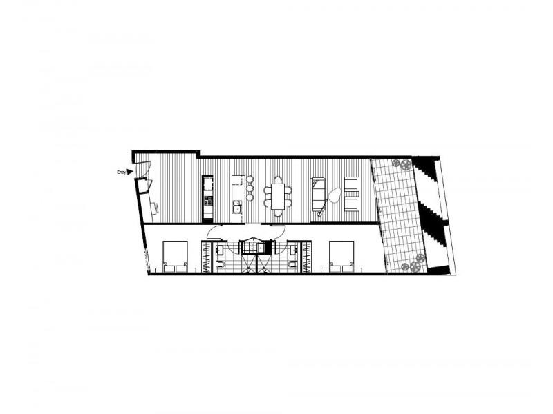 103/1088 Botany Road, Botany NSW 2019 Floorplan