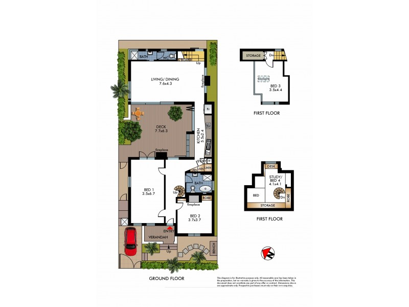 25 Cove Street, Watsons Bay NSW 2030 Floorplan