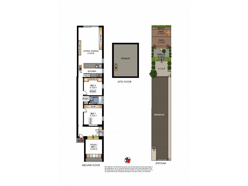 58 Wallis Parade, North Bondi NSW 2026 Floorplan