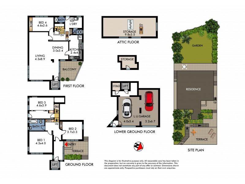 8 Mermaid Avenue, Maroubra NSW 2035 Floorplan