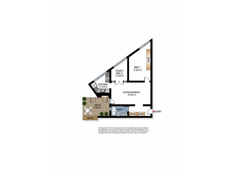 4/7 O'Brien Street, Bondi Beach NSW 2026 Floorplan