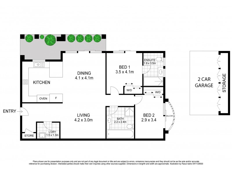 11/94-98 Ramsgate Avenue, Bondi Beach NSW 2026 Floorplan