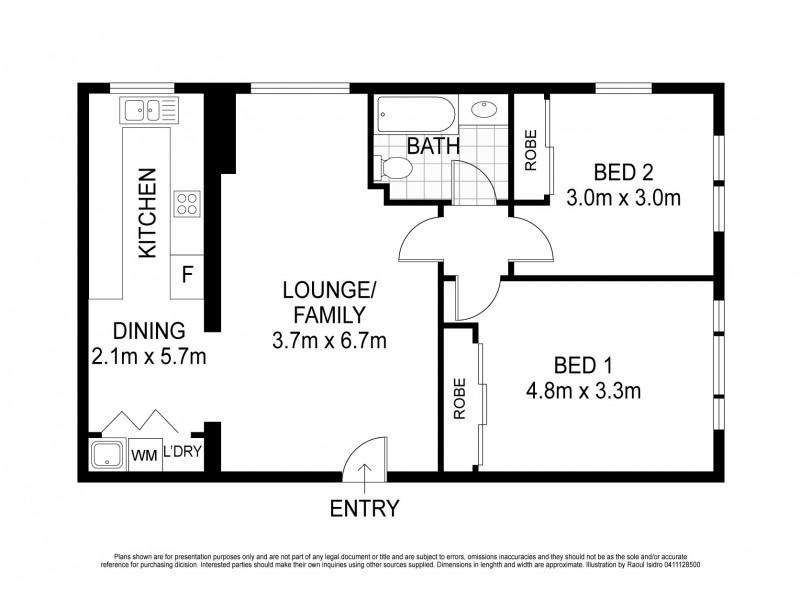 9/69 Birriga Road, Bellevue Hill NSW 2023 Floorplan
