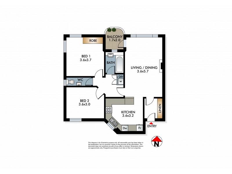 11/2 Wellington Street, Woollahra NSW 2025 Floorplan