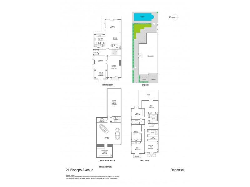 27 Bishops Avenue, Randwick NSW 2031 Floorplan
