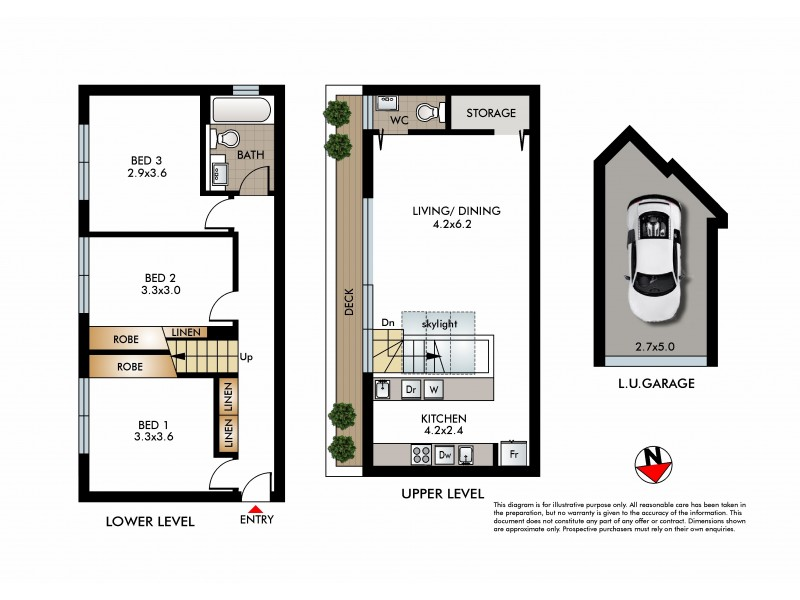 4/52 Edward Street, Bondi NSW 2026 Floorplan
