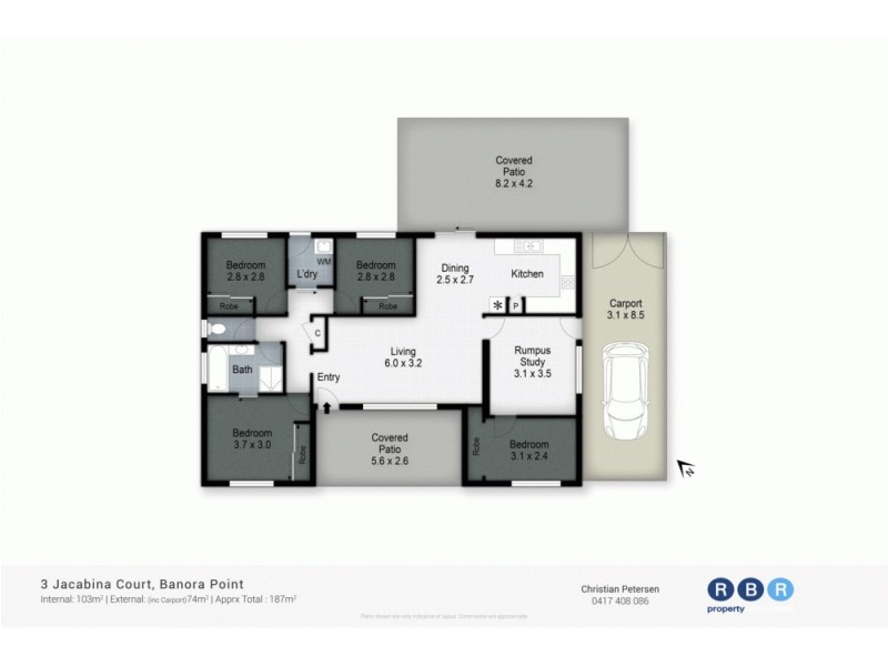 3 Jacabina Court, Banora Point NSW 2486 Floorplan