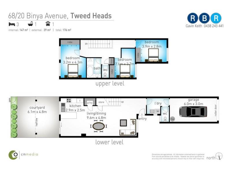 68/20 Binya Avenue, Tweed Heads NSW 2485 Floorplan