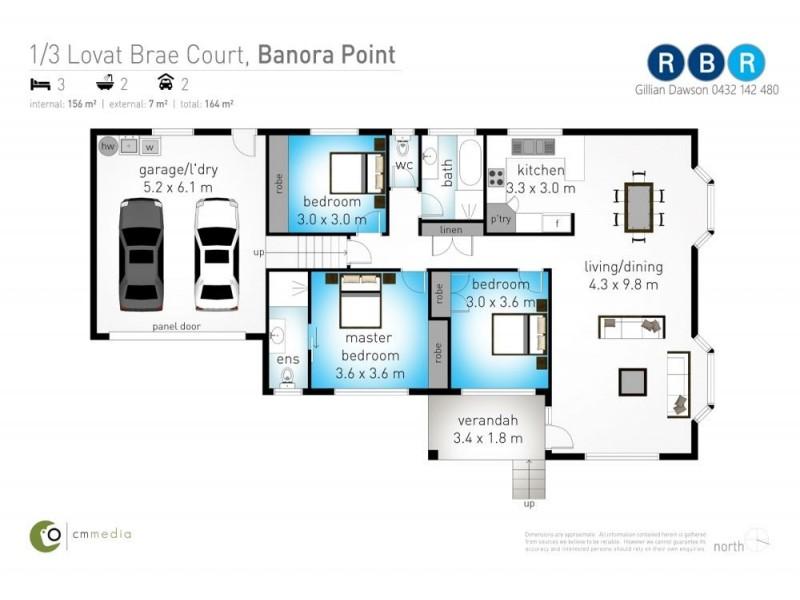 1/3 Lovat Brae, Banora Point NSW 2486 Floorplan