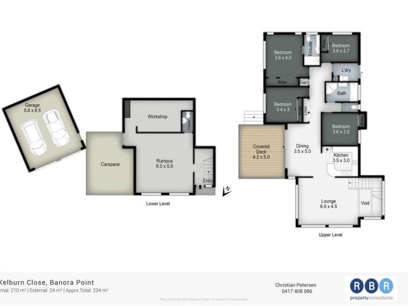8 Kelburn Close, Banora Point NSW 2486 Floorplan