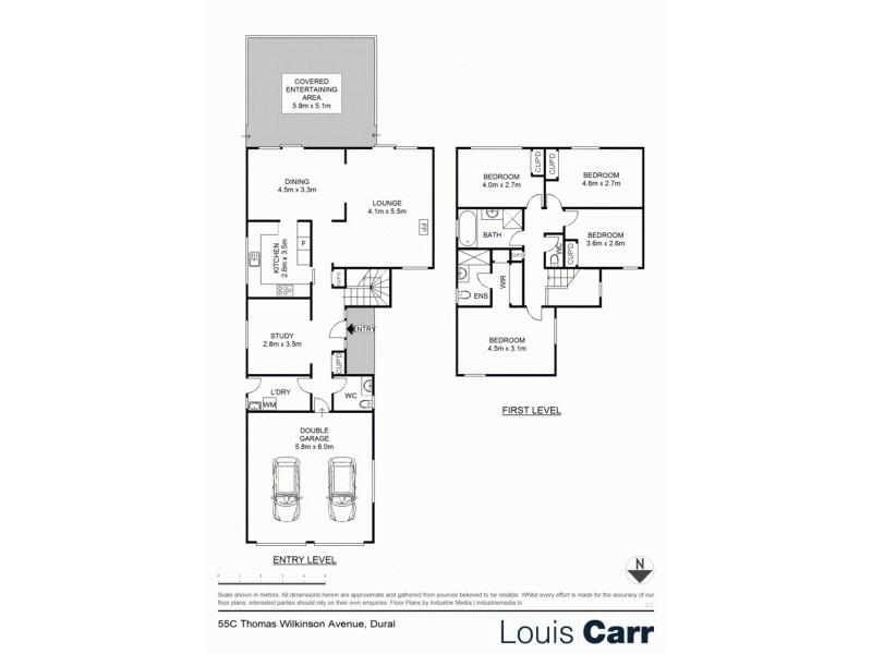 55c Thomas Wilkinson Ave, Dural NSW 2158 Floorplan