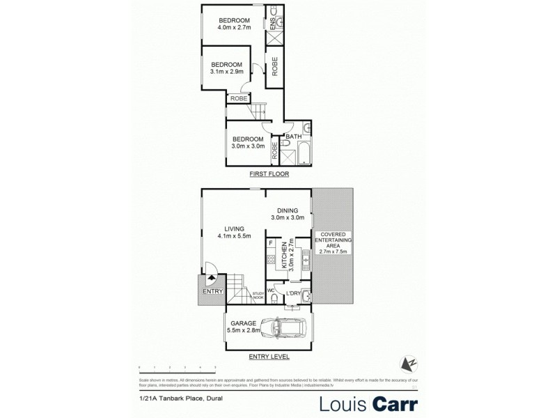 1/21a Tanbark Place, Dural NSW 2158 Floorplan