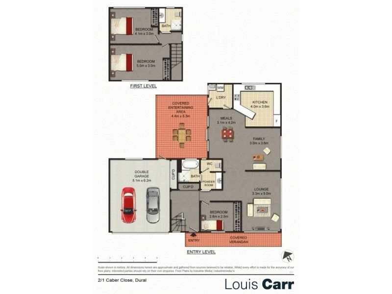2/1 Caber Close, Dural NSW 2158 Floorplan