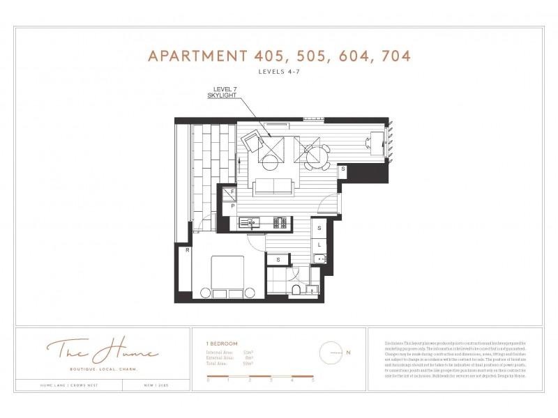 401 & 505/31-33 Albany Street, Crows Nest NSW 2065 Floorplan