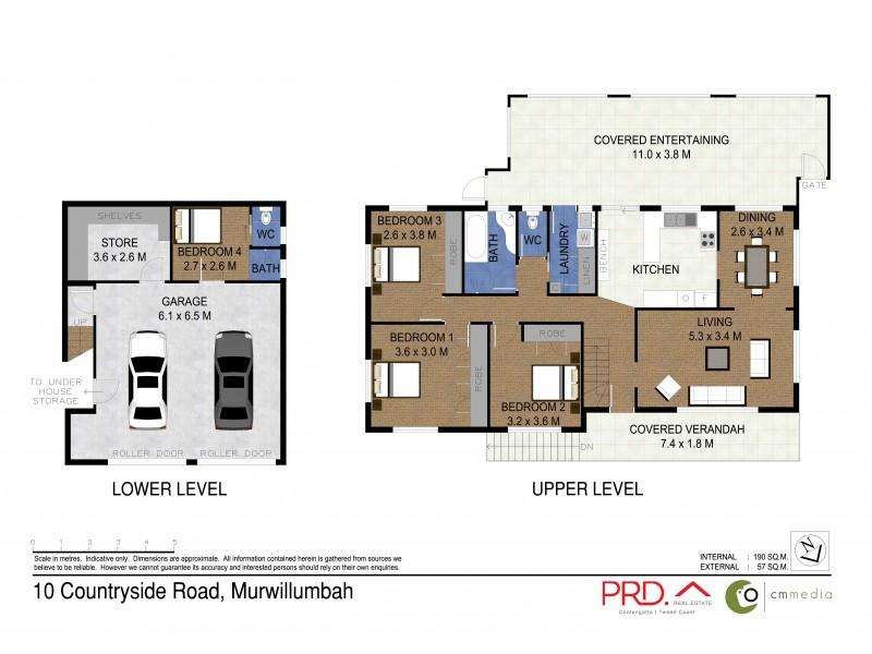 10 Countryside Drive, Murwillumbah NSW 2484 Floorplan