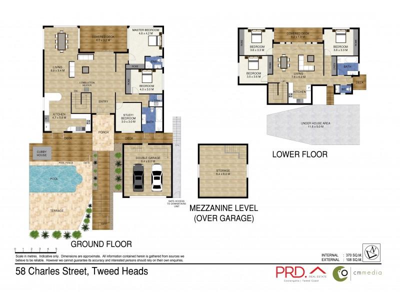 58 Charles Street, Tweed Heads NSW 2485 Floorplan