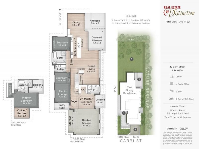 12 Carri Street, Arakoon NSW 2431 Floorplan
