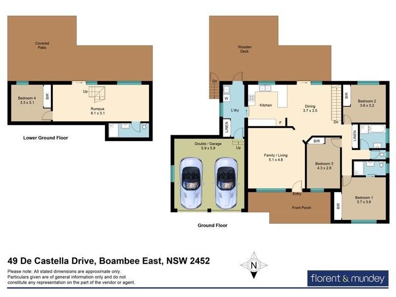 49 De Castella Dr, Boambee East NSW 2452 Floorplan