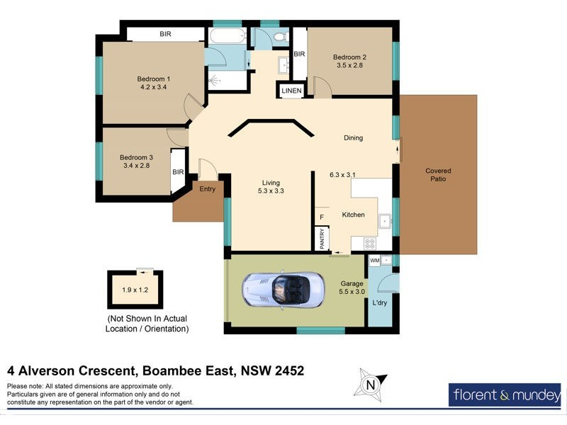 4 Alverson Crescent, Boambee East NSW 2452 Floorplan