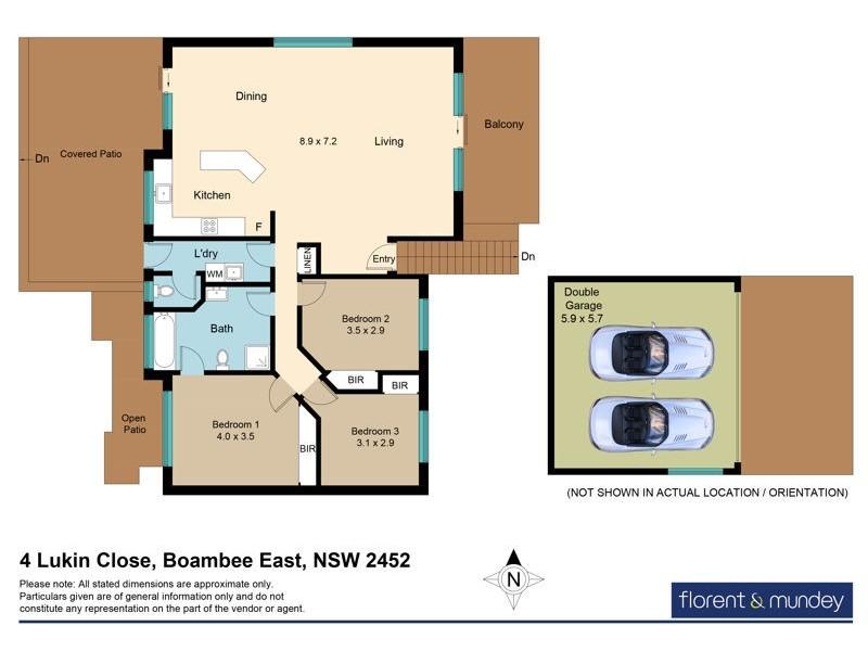 4 Lukin Cl, Boambee East NSW 2452 Floorplan