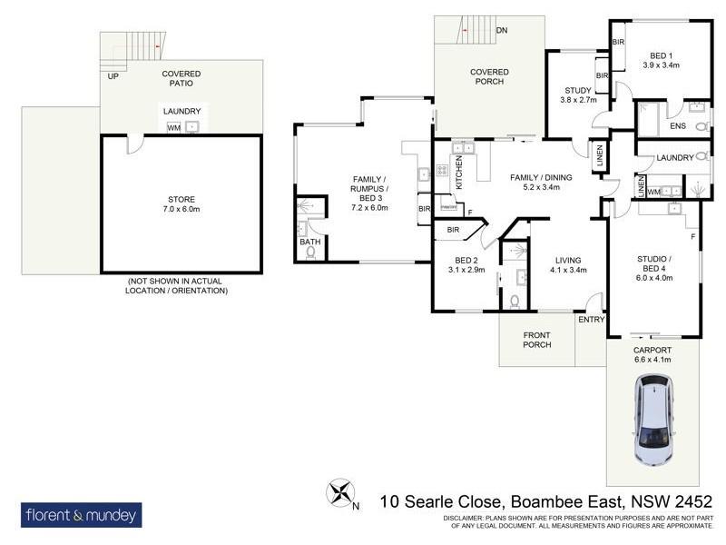 10 Searle Cl, Boambee East NSW 2452 Floorplan
