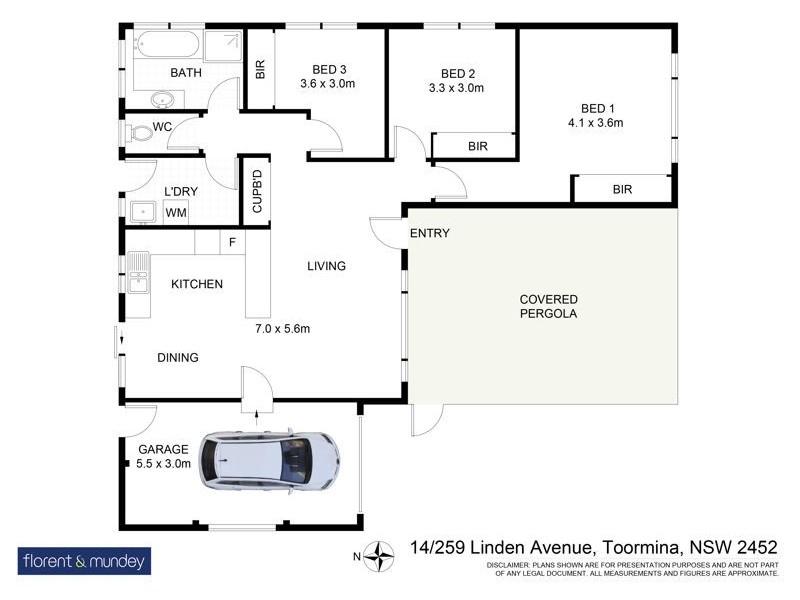 14/259 Linden Ave, Boambee East NSW 2452 Floorplan
