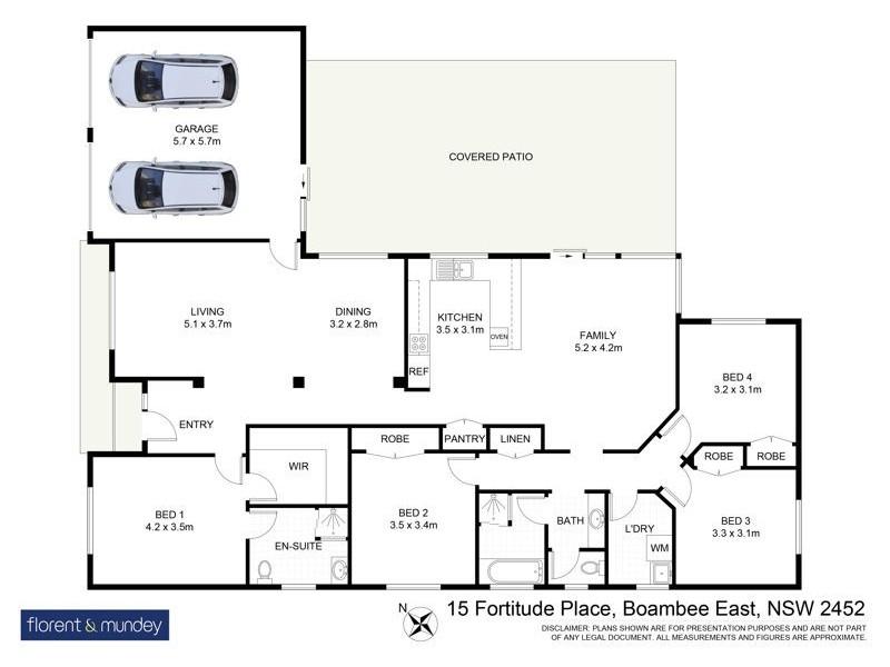 15 Fortitude Place, Boambee East NSW 2452 Floorplan
