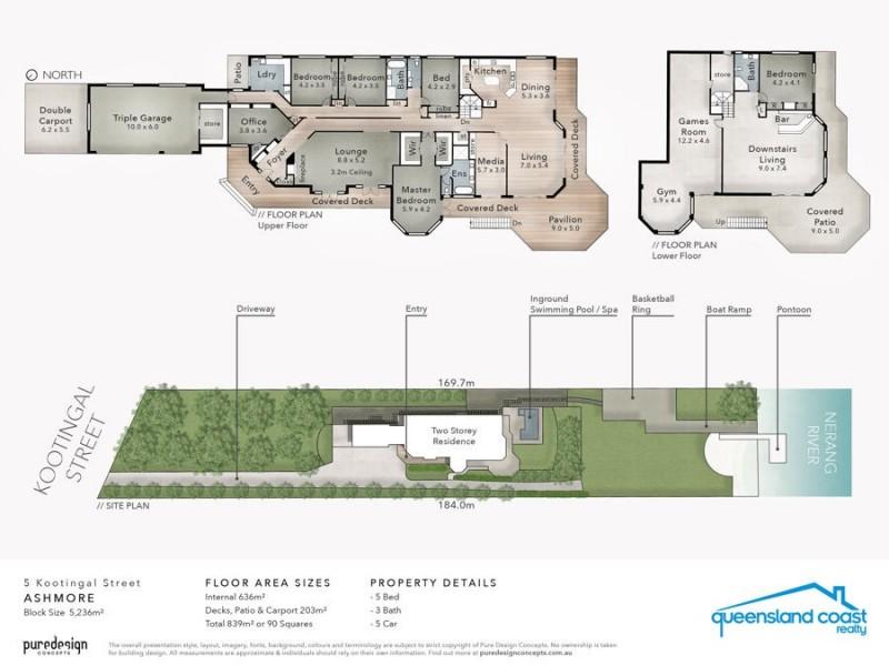 5 Kootingal Street, Ashmore QLD 4214 Floorplan