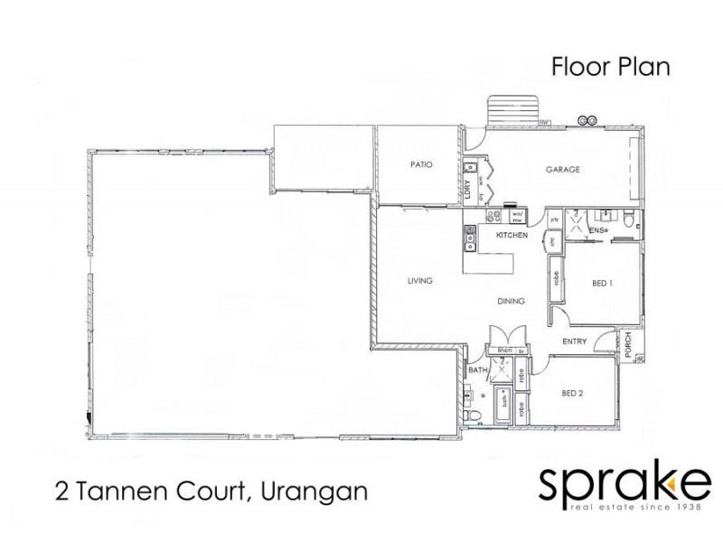 2 Tannen Court, Urangan QLD 4655 Floorplan