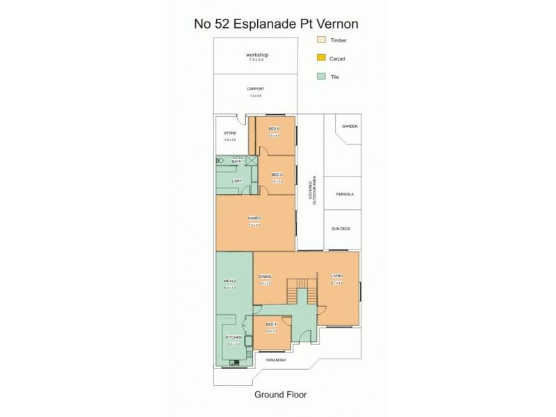 52 Esplanade, Point Vernon QLD 4655 Floorplan
