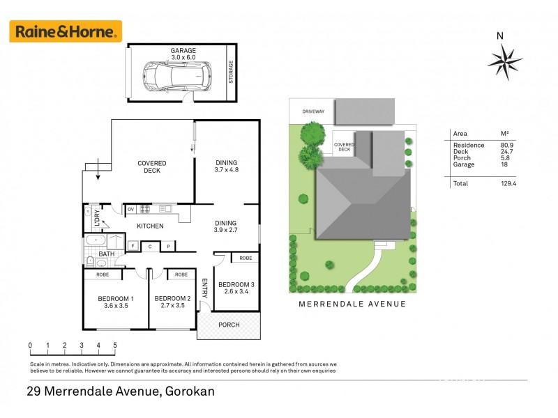 29 Merrendale Avenue, Gorokan NSW 2263 Floorplan