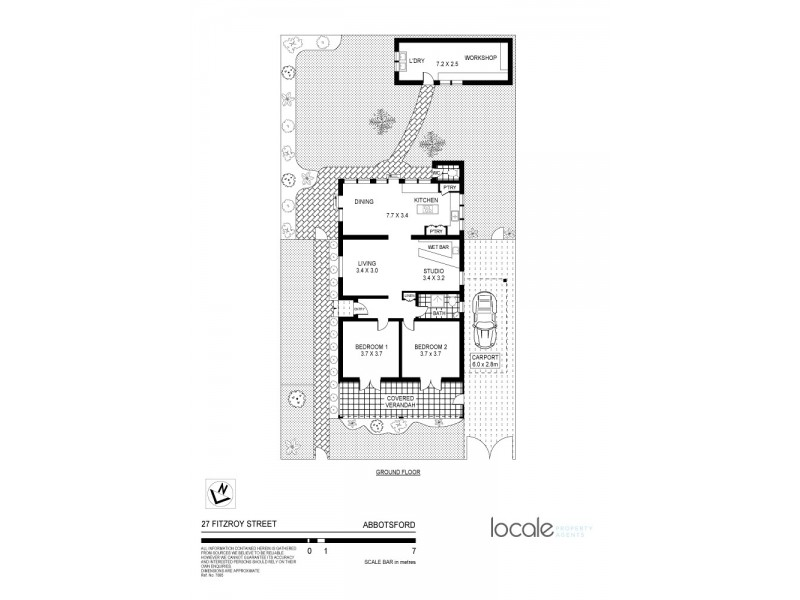 27 Fitzroy Street, Abbotsford NSW 2046 Floorplan
