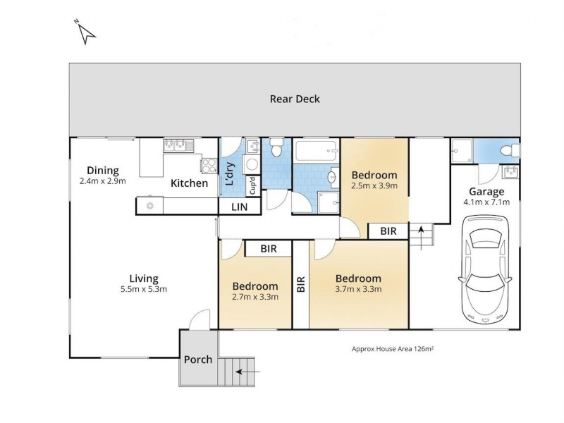 7 Wyuna Place, Ulladulla NSW 2539 Floorplan