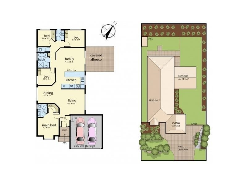 14 Black Bean Grove, Ulladulla NSW 2539 Floorplan