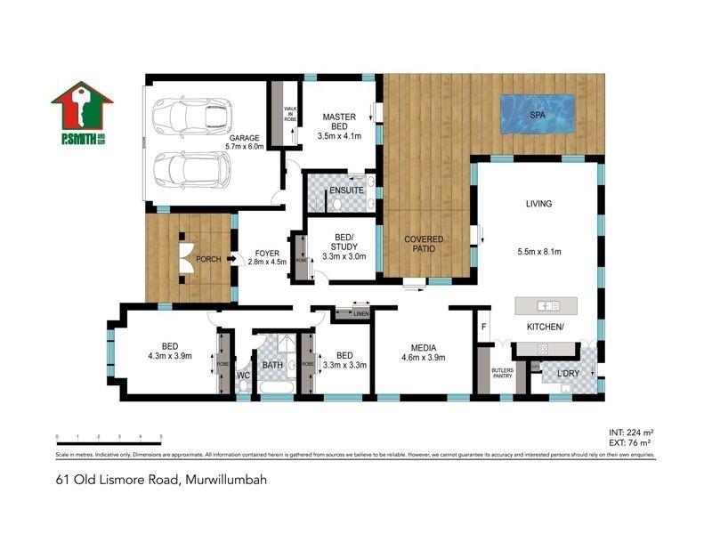 61 Old Lismore Road, Murwillumbah NSW 2484 Floorplan