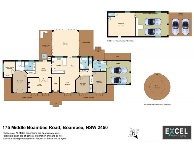 175 Middle Boambee Road, Boambee NSW 2450 Floorplan