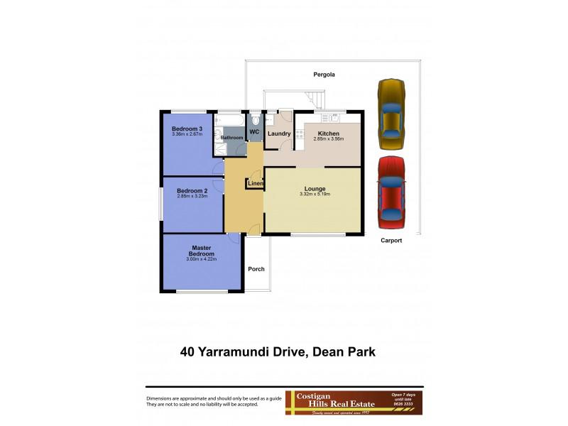 40 Yarramundi Drive, Dean Park NSW 2761