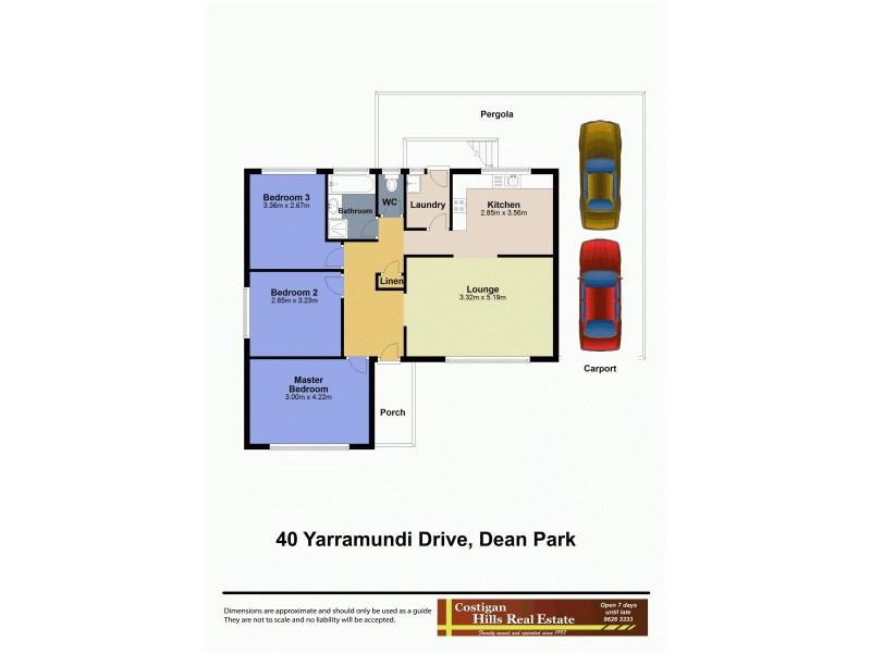 40 Yarramundi Drive, Dean Park NSW 2761 Floorplan