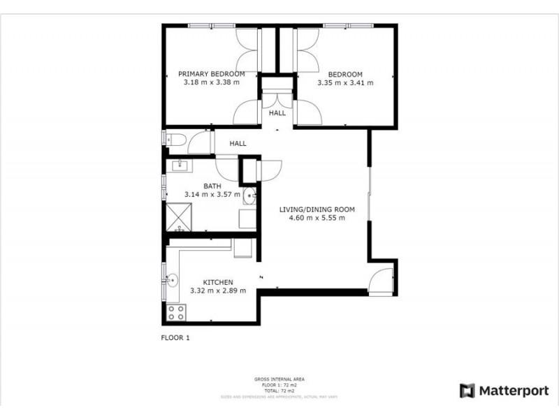 4/10 Minorie Drive, Toormina NSW 2452 Floorplan