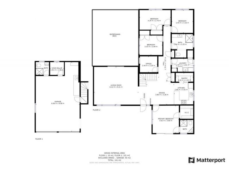 19 Ramornie Drive, Toormina NSW 2452 Floorplan