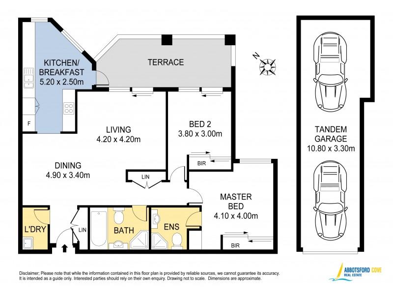 21/3 Abbotsford Cove Drive, Abbotsford NSW 2046 Floorplan