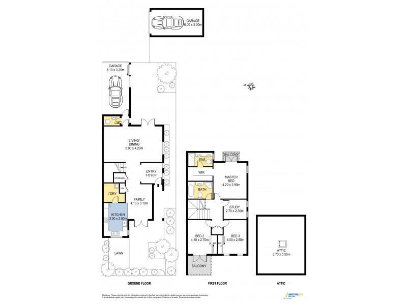 12 Chatham Place, Abbotsford NSW 2046 Floorplan