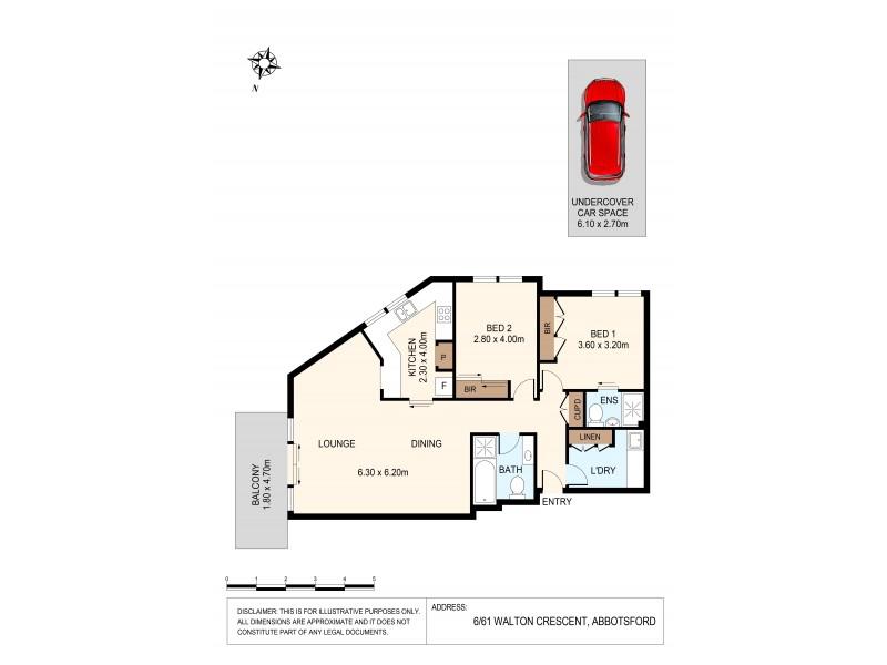 6/61 Walton Crescent, Abbotsford NSW 2046 Floorplan